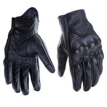 FLY5D кожаные бесшовные мотоциклетные беговые перчатки сенсорный экран мужские женские перчатки мягкие теплые подходят для осени и зимы
