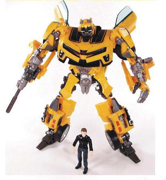 product Cool!!!Transformation Robot Human Alliance Bumblebee and Sam Action Figures Toys for classic toys anime figure cartoon gift toy