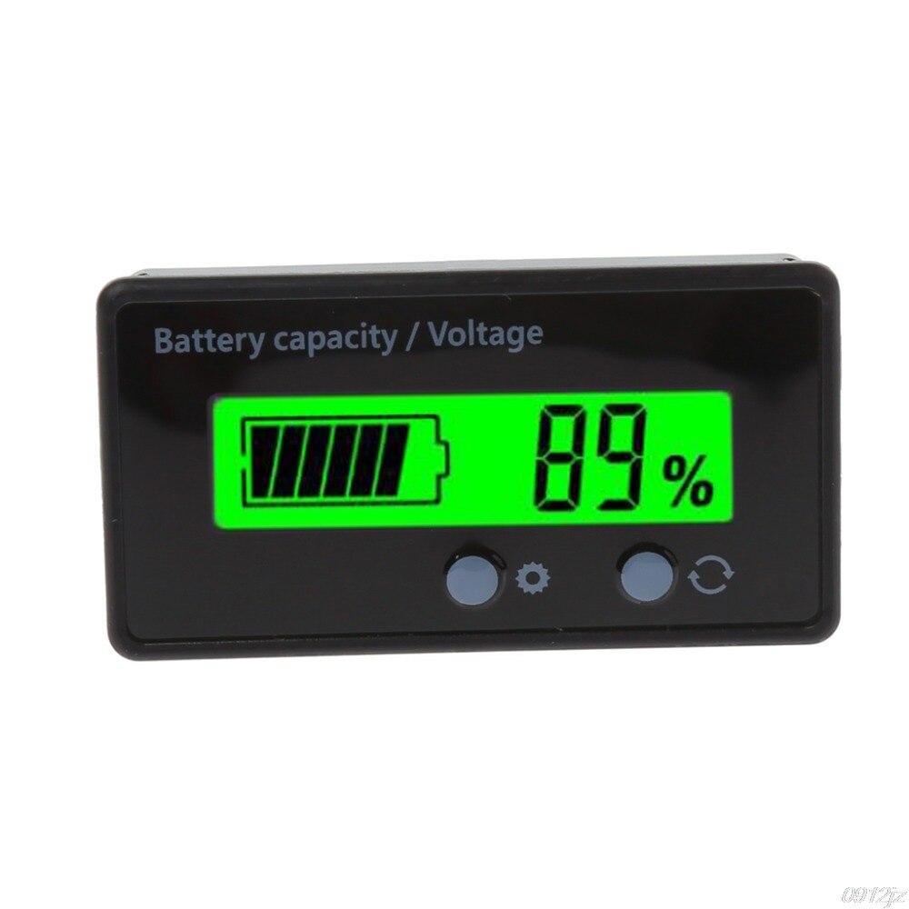 8-70 в ЖК-свинцово-кислотный литиевый аккумулятор Емкость Вольтметр с индикатором напряжения тестеры батареи инструменты LS'D инструмент