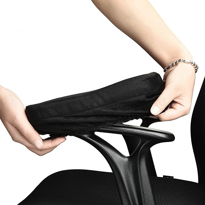 Universal Memory Foam Chair Armrest Pads for Office Chair Soft Elbow Pillows with Non Sliding Cushion for Arm Chair Pad Cover new 1 pair soft foam knee pads protectors cushion sport work gardening builder