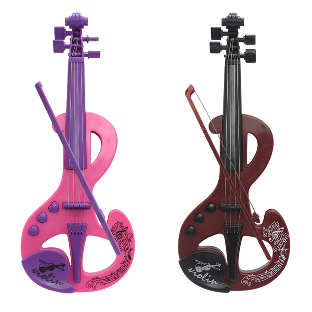 Children's simulation violin toy musical instrument guitar 1-3 years old children educational puzzle boy girl