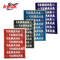 1 set of 8 PCS strip 4 color motorcycle sticker for yamaha logo brand Badge Emblem motorbike decal motocross ATV Off-road moto