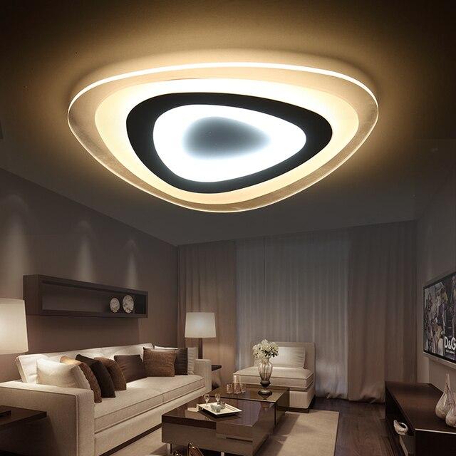 Ultra mince Surface Monté Moderne led plafond lumières Lustre pour ...