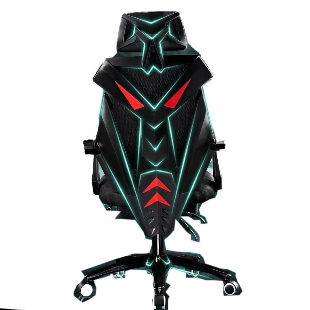 Haute qualité Esports 1220 Gaming Poltrona coussin respirant dentelle bureau chaise roue ménage acier pieds Silla Gamer