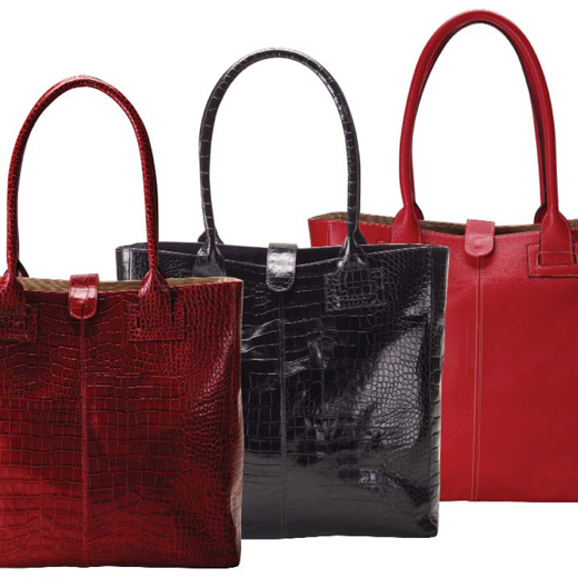 Raika NI 153 RED Business Tote Bag - Red