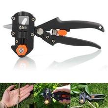 Professional Garden ผลไม้ต้นไม้ตัดแต่งกิ่ง Scissor Grafting ตัดเครื่องมือ + 2 ใบมีดสวนชุดเครื่องมือ pruner เครื่องมือตัดต้นไม้