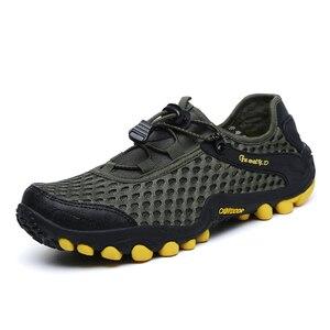 Image 1 - Nouveaux hommes en plein air chaussures de randonnée chaussures de montagne chaussure de Trekking
