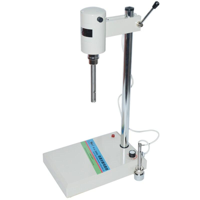 2 ~ 800 мл лабораторный гомогенизатор лабораторное смешивающее оборудование с двумя различными головками миксер FJ 200