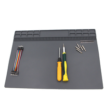35x25cm Heat-resistant Silicone Pad Desk Mat Maintenance Platform Heat Insulation BGA Soldering Repair Station