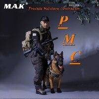 1:6 рисунок аксессуар человек одежда PMC private Военная Униформа подрядчика Боевой набор оружия Игрушечные лошадки для 12 ''мужской фигурку