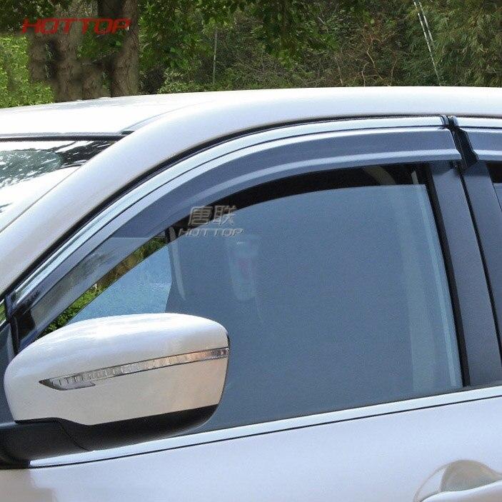 واقي من المطر لحماية نوافذ السيارة غطاء واقي من المطر يناسب نيسان قاشقاي 2016 2017