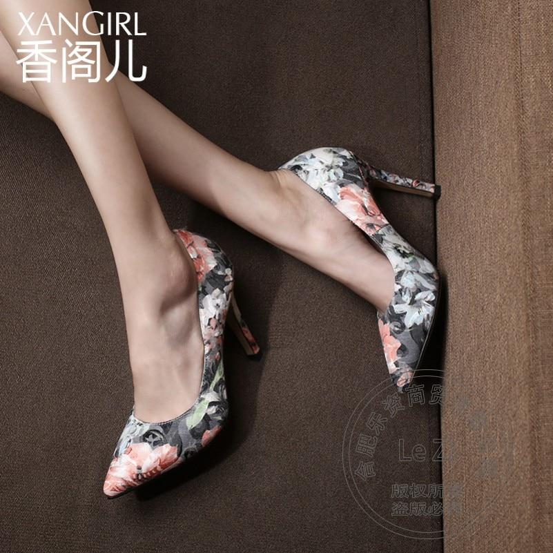 Spring Autumn Best Seller Single Designer Shoes For font b Women b font Heels Pointed Toe