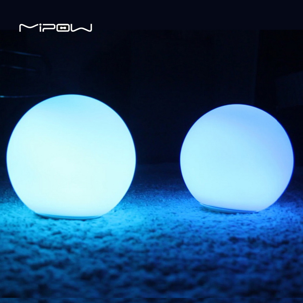 glass orb lighting. Original MIPOW BTL301W WT PLAYBULB Sphere Smart Dimmable LED Glass Orb Light Floor Lamp Night Lights Tap To Change Color White -in Novelty Lighting From D