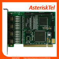 TE405P quad диапазона цифровой карты, плата E1 плата T1 карты 5 В PCI digium подстановочный E1 Голос Доска Для Ip-телефонной Системы sangoma голос доска