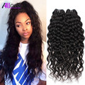 8A Brazilian Water Wave Virgin Hair 3pcs Lot Cheap Human Hair Wet And Wavy Virgin Brazilian Hair Brazilian Water Wave 8-30 Inch
