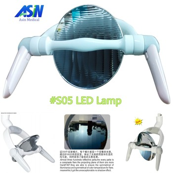 2016 New Arrival reflectance LED dental lamp Shadowless Effect dental light with sensor for dental unit
