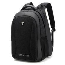 b88ec4cdd3a2c Erkek iş rahat polyester dikey laptop çantası Büyük kapasiteli seyahat çok  fonksiyonlu ısıtma sırt çantası(