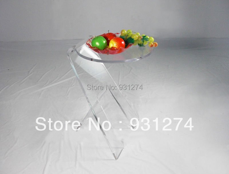 Бесплатная Доставка Опт и розница акрил столики современный контракт ночь стоит круглые столы кофе мебель