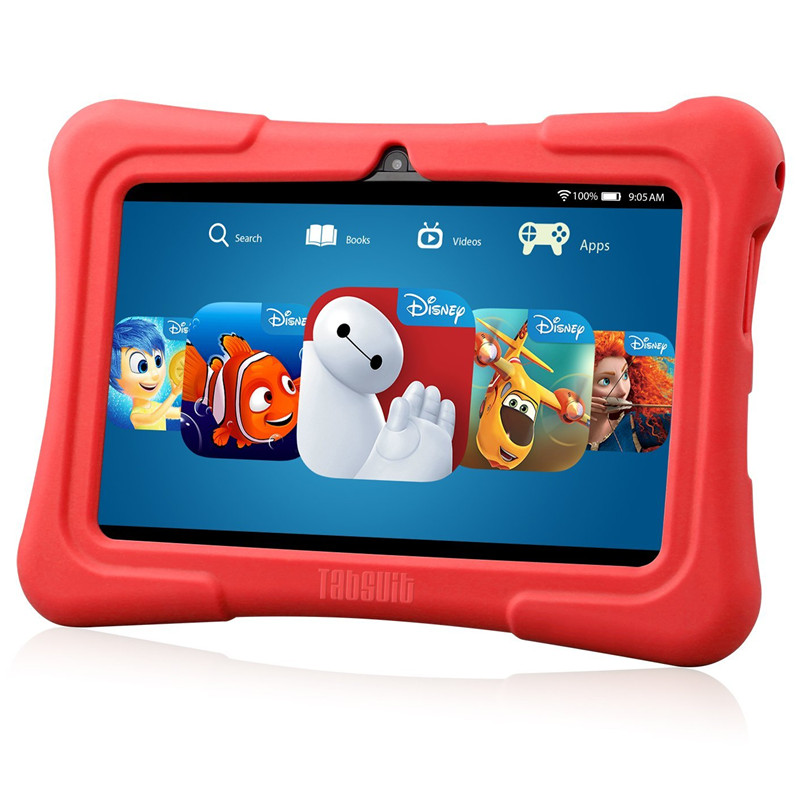DragonTouch Newest 7 inch Kids Tablet PC Quad Core 8G ROM Android 5.1 With Children Apps Dual Camera PAD for Children