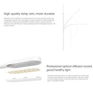 Image 3 - Oryginalny Xiaomi yeelight LED lampa biurko ściemniania inteligentny składany USB czujnik dotykowy lampa stołowa światła do czytania YLTD01YL standardowy 3 W
