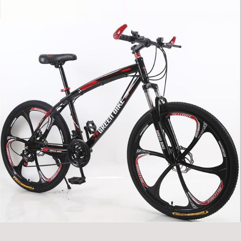 Mountain Bike Both Men And Women Dual Shock Absorber Disc Brake Soft Tail Variable Speed Bicycle