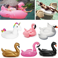 Giant Inflatable flamingo Pool float inflatable unicorn adult Swimming ring inflatable Swan donut Garden Sofa