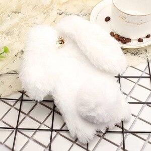 Image 2 - Vonada Estuche de felpa para Wiko Lenny 2 Tommy Robby Harry lindo funda de piel de orejas de conejo TPU brillante suave cubierta de la Caja