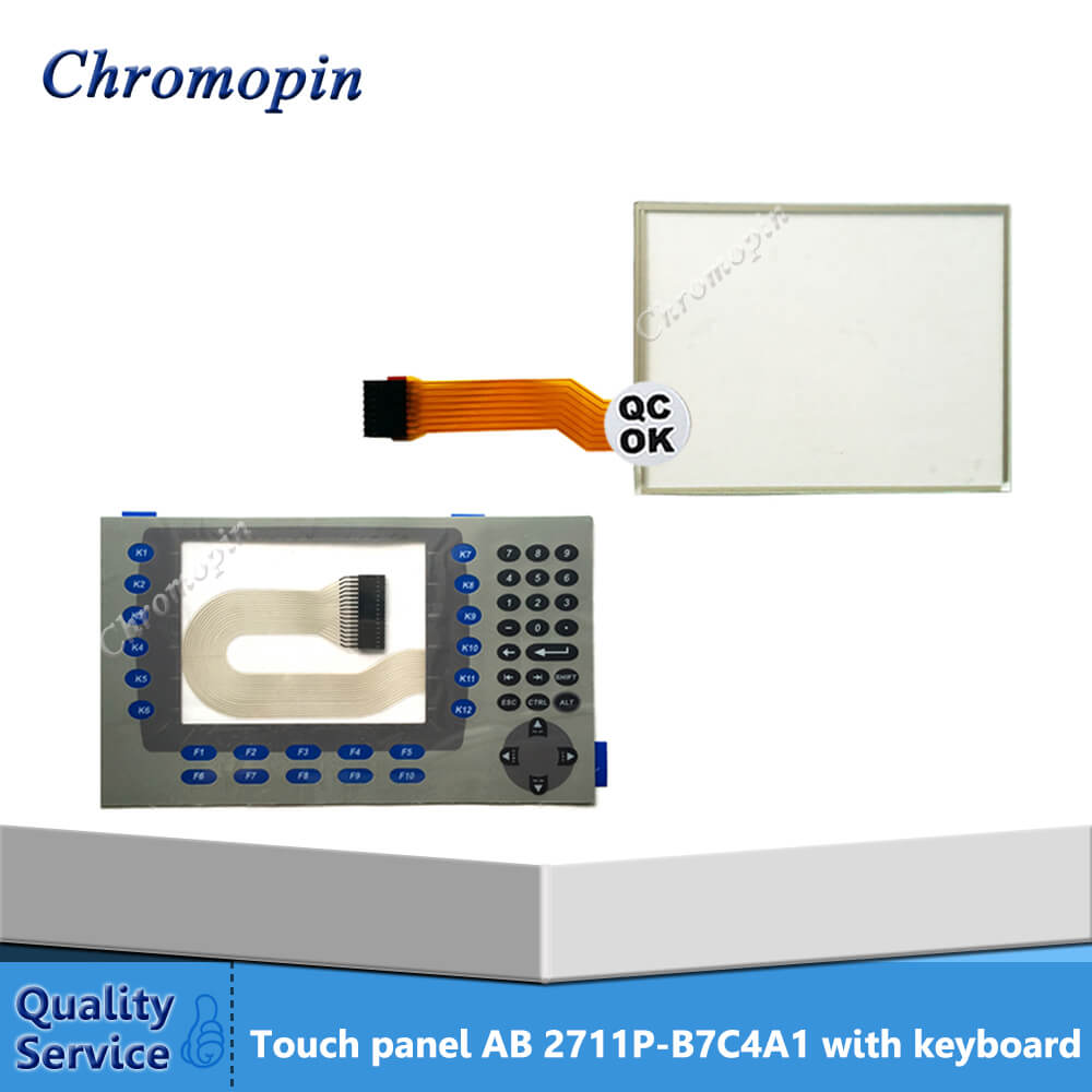 Touch screen panel for 2711P-B7C4A1 2711P-B7C4A2 2711P-B7C4D6 2711P-B7C4D2 PanelView Plus 700 with protective film цена