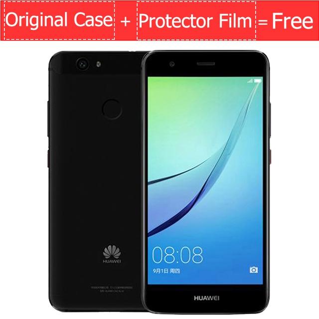 """Оригинальный Huawei NOVA 4G LTE мобильный телефон 3/4 г оперативной памяти 32/64 ГБ ROM MSM8953 Восьмиядерный 5.0 """"FHD 1920x1080 P отпечатков пальцев ID"""