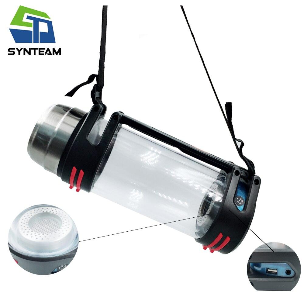 Synteam D'hydrogène Bouteille D'eau Sport En Plein Air Voyage PEM Membrane Portable Générateur D'hydrogène Alcaline Ioniseur D'eau Maker H2