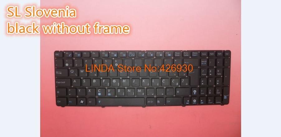 for ASUS UL50VF K52D K52DE K52DR K52DY K52F K52J K52JB K52JC Keyboard Frame UK