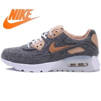 Official Original NIKE AIR MAX 90 ULTRA PRM Women's Running Shoes Breathable Sneakers Sport Outdoor Jogging Comfortable Durable