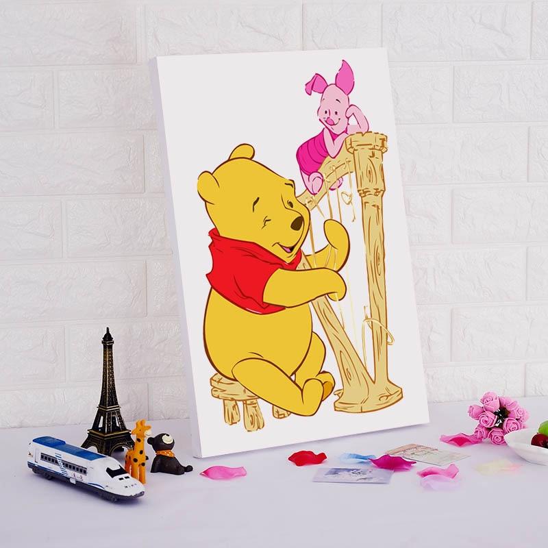 Online Shop Cartoon Winnie the Pooh children draw practice art ...