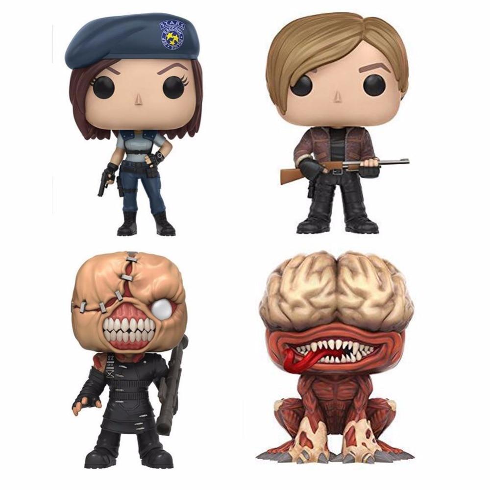 Resident Evil Character JILL VALENTINE & NEMESIS 10cm Action Figure Toys jill hadfield classroom dynamics