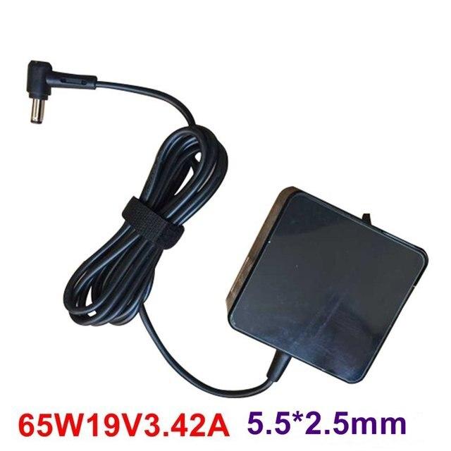 Высочайшее качество 19 В 3.42A 65 Вт 5.5*2.5 мм Адаптер ПЕРЕМЕННОГО ТОКА Для Asus Toshiba x55 A3 A8 f3 F6 F8 F83CR X50 Z9 S1 ADP-65AW Ноутбук зарядное устройство