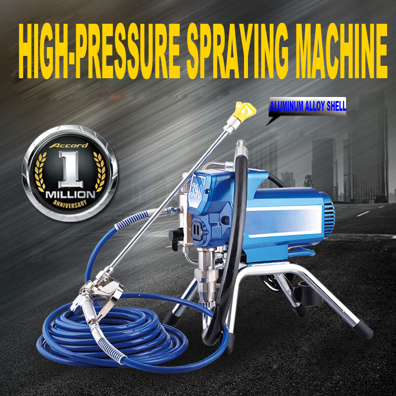 цена на Profesional Electric Airless Paint Sprayer 1800W High Pressure Airless Spraying Machine Airless Spray Gun Wall/ Paint sprayer
