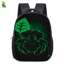 f390ac6449fa Anime Pokemon Backpack for Kids Charizard Venusaur Fluorescence  Kindergarten Backpacks Boys Girls Students School Bags Book