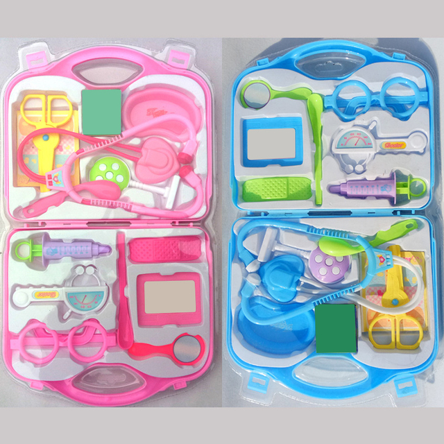 Super Gioco del bambino Scatola Kit Medico Giocattoli Medico Kit Per I  ZH27