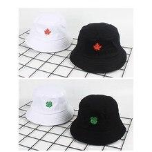 Хлопок ремень из натуральной кожи панамка с вышивкой Рыбацкая шляпа Открытый Дорожная шляпа складной шляпы от солнца для мужчин и женщин 03
