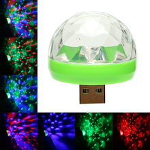 iTimo Mini USB LED Stage Lamp Portable Ball Lamps Party Decoration Colorful Neon Light Color Change Disco DJ Stage Lighting
