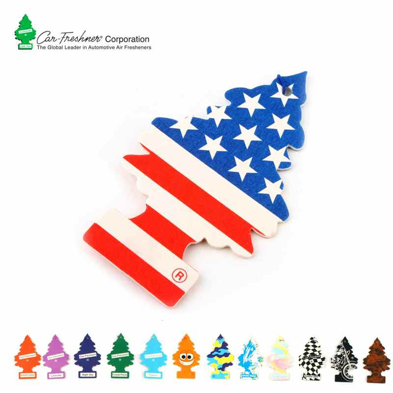 High Promotion: 2pcs/lot Little Trees Multipurpose Car Air Freshener , Car Perfume Car Deodorant Auto Decorations Car Pendant