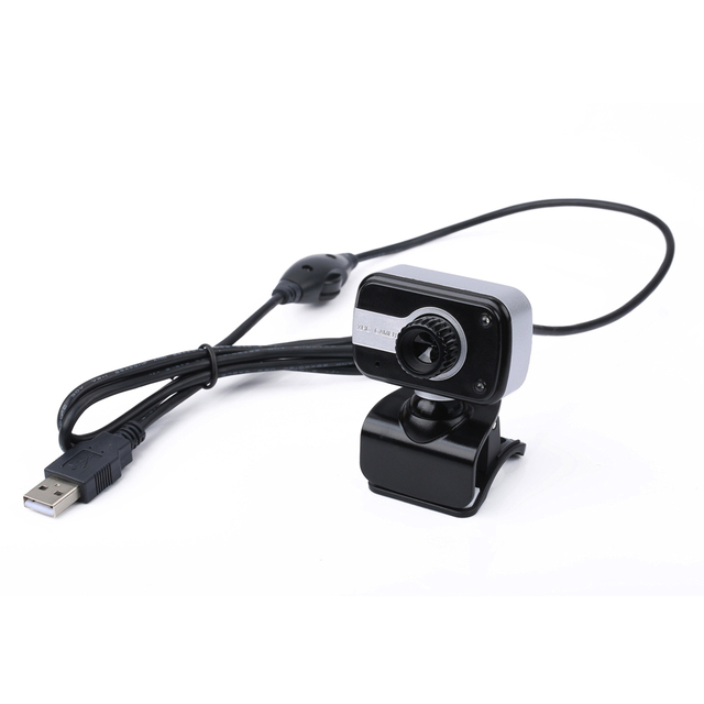 360 Degree Rotation USB Webcam 12M Pixels HD Clip-on Web Cam Camera With Microphone MIC for Computer Laptop PC High Quality 2