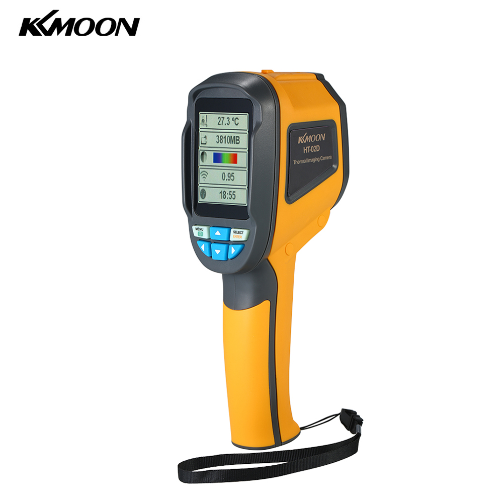 KKmoon Handheld Digital Thermometer Infrared Thermometer -20~300 Degree & IR Resolution TFT Color Display Imaging Thermal Camera reiner salzer infrared and raman spectroscopic imaging
