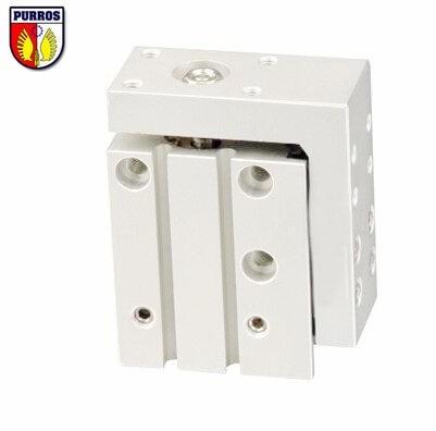цена на MXH 16 Pneumatic Sliding Cylinder, Bore: 16mm, Stroke: 5/10/15/20/25/30/40mm