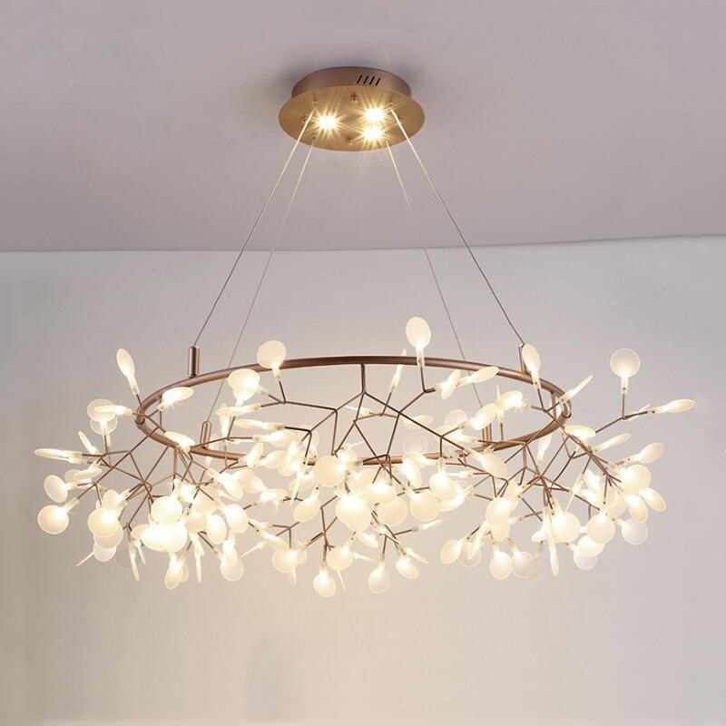 Chandelier modern led Chandeliers Lustre Ceiling Suspension for Bedroom Living avize Room Suspended Lamp chandelier
