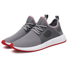 2019 Men Shoes New Fashion Men Vulcanized Shoes Comfort Men Casual Shoes Male Mesh Air Flats Shoes Spring Slip On Men Sneakers