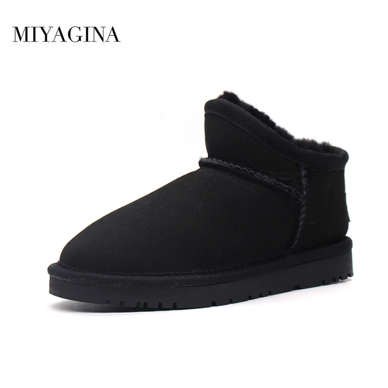 2019 New Fashion Winter Children Boots Boys Girls 100% Genuine Sheepskin Leather Natural Fur Non-slip Snow Boots Kids Shoes2019 New Fashion Winter Children Boots Boys Girls 100% Genuine Sheepskin Leather Natural Fur Non-slip Snow Boots Kids Shoes