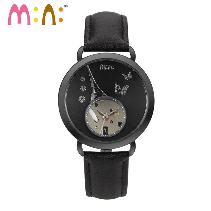 Marque de luxe femmes montres étanche 3D tour décontracté Bracelet dames Quartz montre-Bracelet horloge femme heures 2017 Relogio Feminino