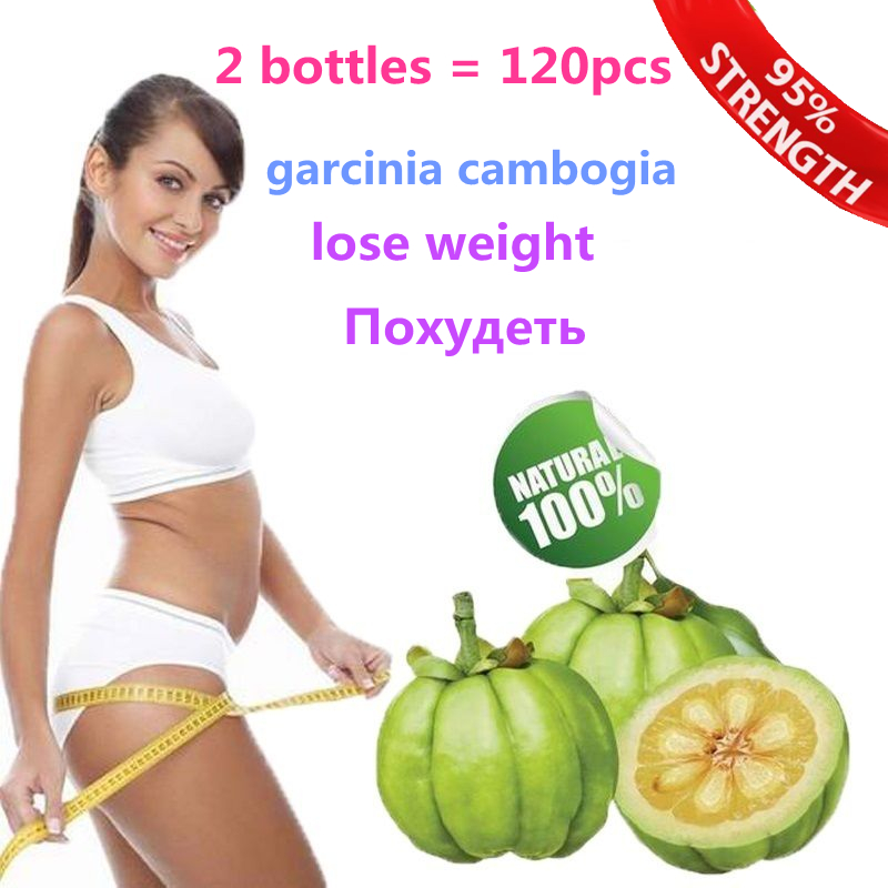 2 copies  Pure garcinia cambogia slimming products loss weight diet product for women And male pure garcinia cambogia extract 85