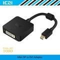 ICZI Thunderbolt Mini DisplayPort to DVI Adapter 1080P @60Hz Mini Displayport DP to DVI Adapter for Macbook Surfacebook etc